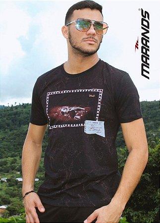 Camiseta masculina manga curta original Marands