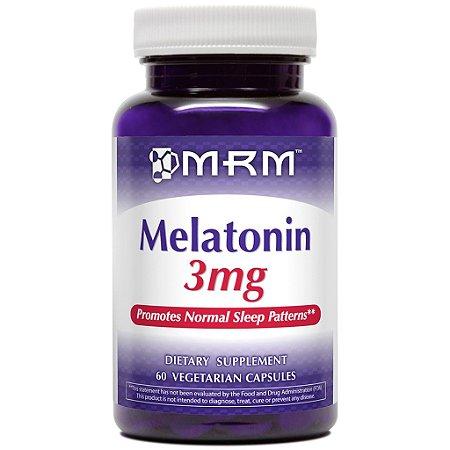 Melatonina, 3 mg, MRM, 60 Capsulas Vegetarianas