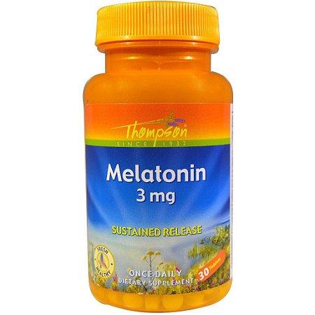 Melatonina Thompson, 3mg, 30 comprimidos