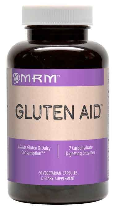 Gluten Aid (auxília na digestão de glúten) - MRM - 60 Cápsulas