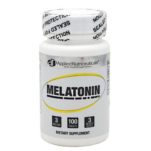 Melatonina 3mg Applied Nutriceuticals - 100 comprimidos