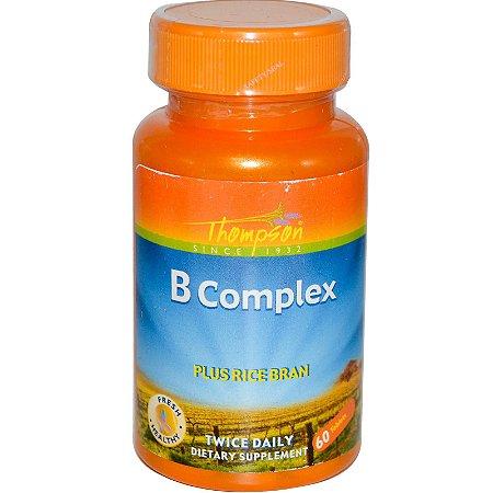 Complexo B - 60 comprimidos, com farelo de arroz - Thompson
