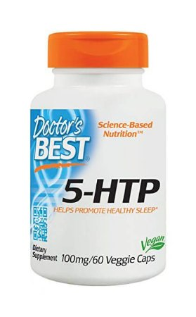 5-HTP, 100mg, 60 Capsulas Vegetarianas - Doctor Best
