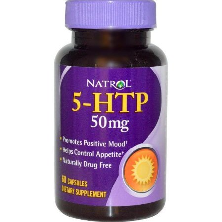 5-HTP-50 mg, Natrol - 45 Cápsulas