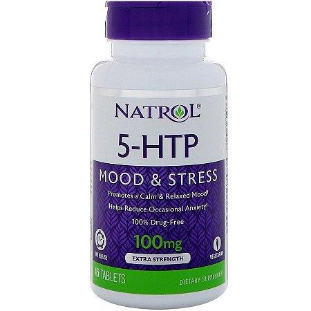 5-HTP Natrol Time Release - 100 mg - 45 comprimidos