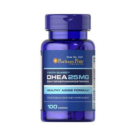 Dhea 25mg - Puritan's Pride - 100 comprimidos