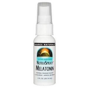 Melatonina em Spray 1,5 mg - Source Natrurals - 59,14 ml