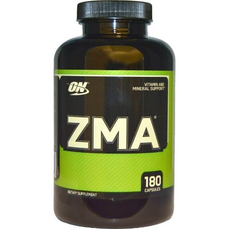 ZMA, Optimum Nutrition, 180 Cápsulas