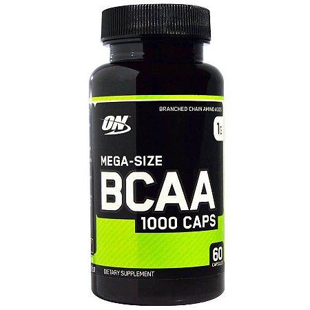 BCAA 1000 Optimum Nutrition 60 Capsulas 1G Tamanho Econômico