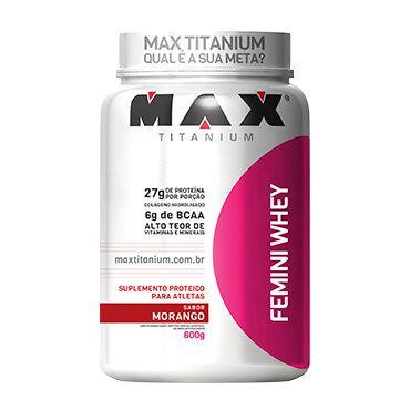 Femini Whey Protein 900Gr - Max Titanium