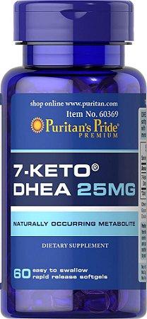 7-Keto™ DHEA 25 mg - 60 Capsulas, Puritans Pride