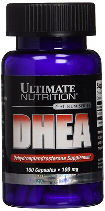 DHEA 100mg Ultimate Nutrition 100 Cápsulas