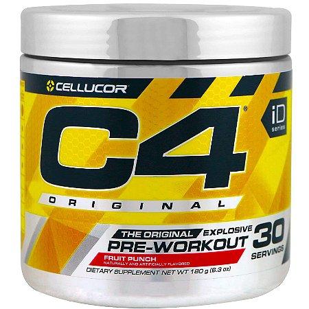 Cellucor C4 Original Explosivo Pré-treino (180 g) - 30 doses