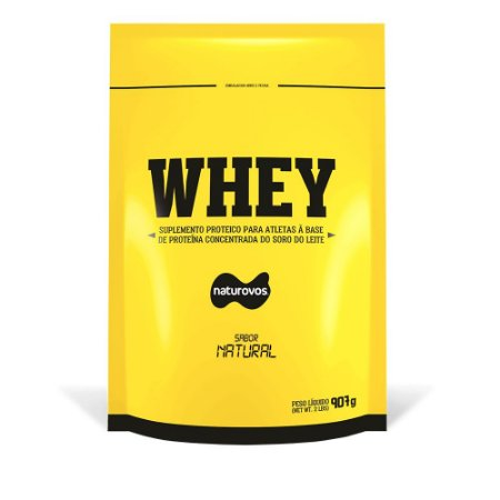 Whey Protein - 907g Refil Naturovos