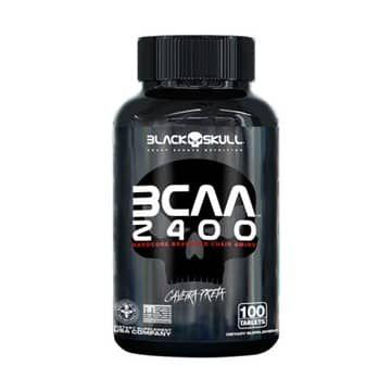 BCAA 2400 (100TABS) - BLACK SKULL