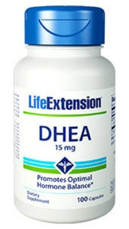 Dhea 15mg Life Extension, 100 capsulas