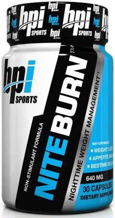 NITE BURN - BPI Sports (30 cápsulas)