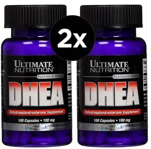 2X DHEA 100mg Ultimate Nutrition 100 Cápsulas