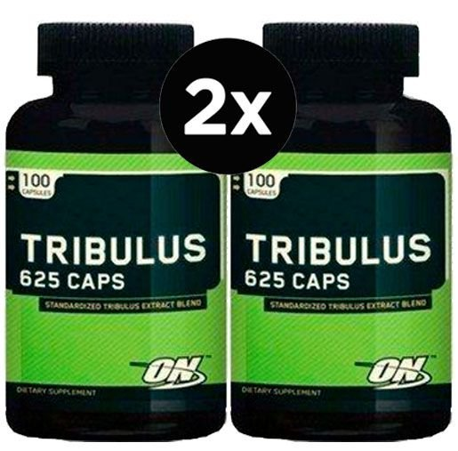 2X Tribulus Terrestris 625 (100 cápsulas) - Optimum Nutrition