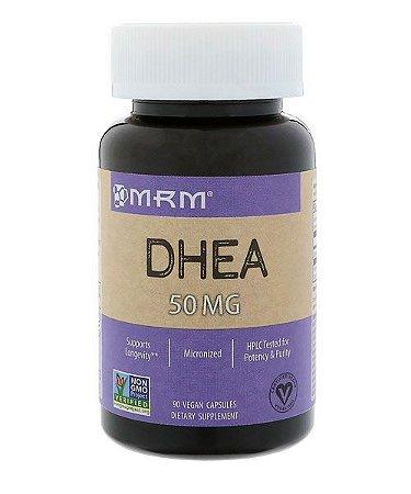 DHEA MICRONIZADA - 50 mg - MRM - 90 cápsulas