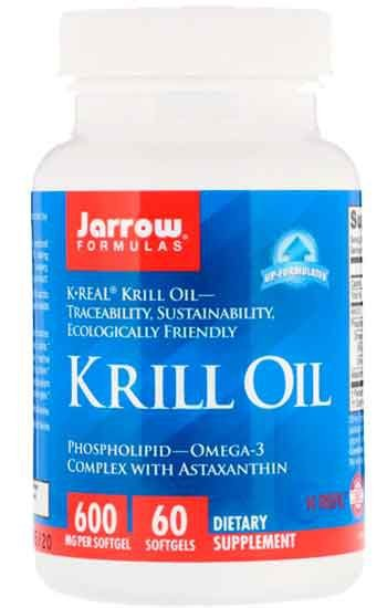 Óleo de Krill, Jarrow Formulas, 60 Cápsulas Gelatinosas