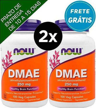 2X DMAE, Now Foods, 250 mg, 100 Cápsulas