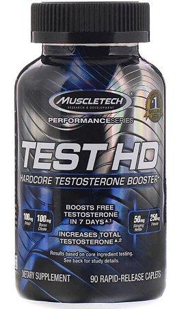 Test HD, Muscletech, Performance Series, Testosterone Booster, 90 Cápsulas