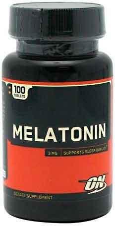 Melatonina 3mg Optimum Nutrition  - 100 comprimidos