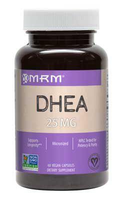 DHEA 25mg Micronizada - MRM - 60 Capsulas
