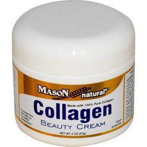 Colágeno creme de beleza, Pêra Perfumado,Mason vitaminas, 2 oz (57 g)