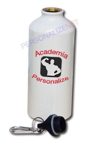 Squeeze Personalizado em Alumínio - Academia