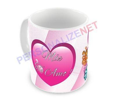 Caneca Personalizada em Ceramica - Dia das Mães - 03