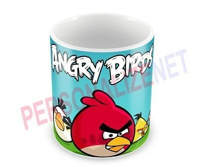 Caneca Personalizada em Ceramica - Angry Birds