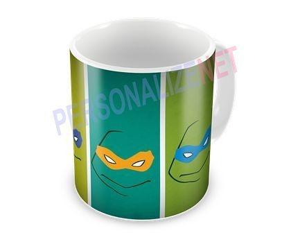 Caneca Personalizada em Ceramica - Tartarugas Ninja