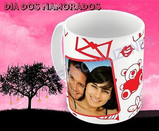 Caneca Personalizada em Ceramica - Dia dos Namorados