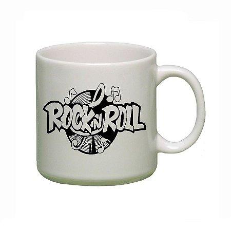 Caneca Personalizada em Ceramica Rock in Roll