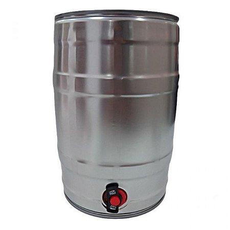 Mini keg com torneira 5L