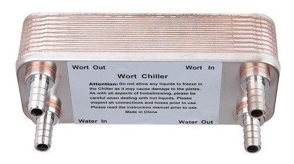 Chiler 20 placas trocador de calor