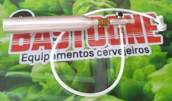Kit para carbonatação cilindro Sodastream