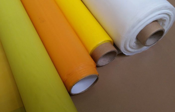 Poliéster 120 Fios Amarelo Para Tela Serigrafia