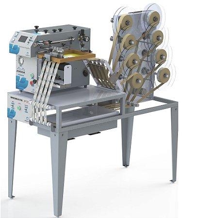 Máquina Automática para Serigrafia em fitas com Flash Cure