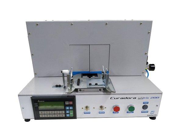 Máquina Curadora UV LED Cilíndrica para Frascaria, Copos, Taças - UV FIX 200