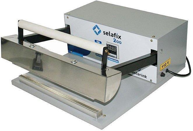 Seladora Manual Digital Selafix 200 | Controle de Temperatura Digital | Aquecimento Permanente | Largura da Solda 8mm