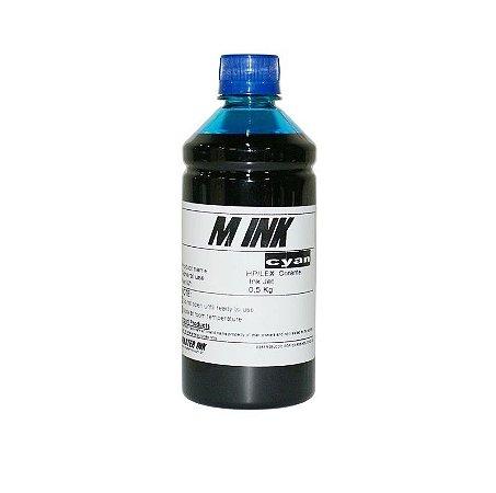 Tinta Mink Corante Cyan 500 ML