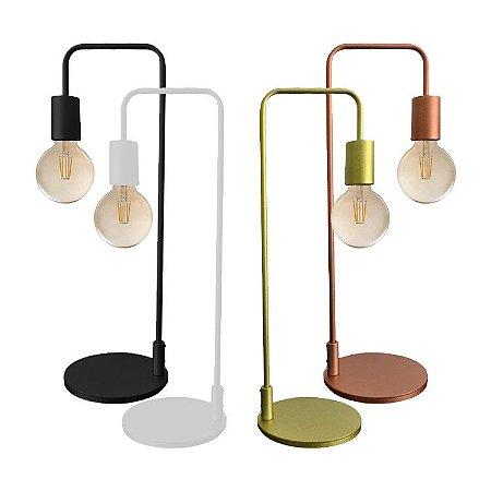 Luminária Metal Lâmpada Pendulo