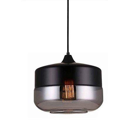 Pendente Vidro Lanterna Bi-Color PE-045