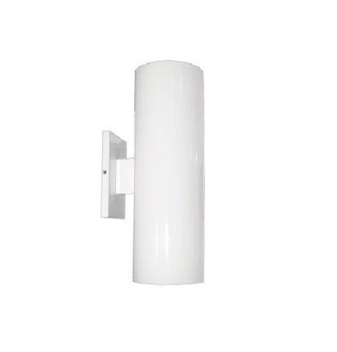 Arandela Aluminio Tubo 2 luzes 30cm 30505