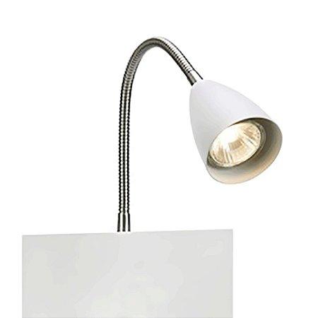 Arandela Metal Flexível com foco direcionável e USB 107140 - Premier