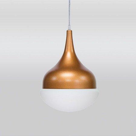 Luminária Pendente Simba T7452 Golden Art 15x22 Cm