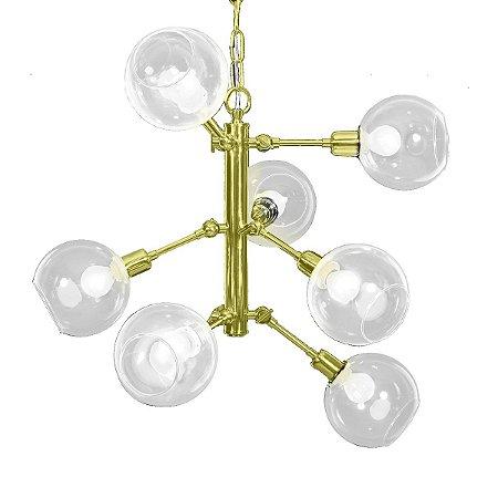 Pendente Luminária York Golden Art T144-9
